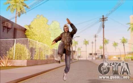 Degtyarev bandido de la chaqueta de S. T. A. L.  para GTA San Andreas quinta pantalla