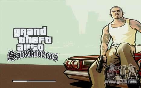 Loadscreens Remastered (HD) para GTA San Andreas segunda pantalla