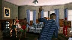Fiesta en la casa de CJ para GTA San Andreas
