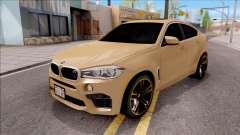 BMW X6M F86 2016 SA Plate para GTA San Andreas