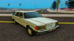 Mercedes-Benz W123 Wagon para GTA San Andreas