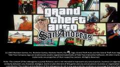 Loadscreens Remastered (HD) para GTA San Andreas