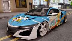 Acura NSX Stance 2017 Itasha Nami para GTA San Andreas