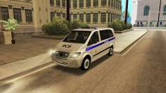 Mercedes-Benz Vito FSB para GTA San Andreas