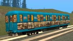 Un Histórico Vagón De Metro para GTA San Andreas
