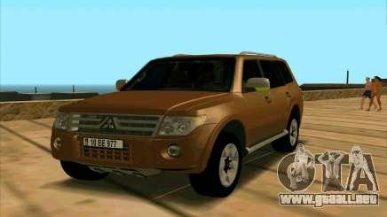 Mitsubishi Pajero Azeri para GTA San Andreas