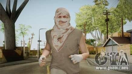 GTA Online: SmugglerRun Male Skin para GTA San Andreas