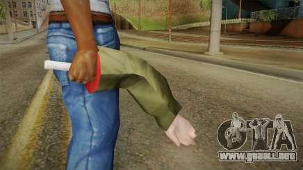 Arm Weapon para GTA San Andreas