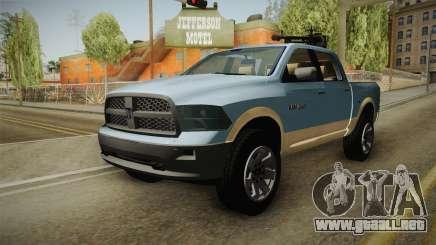 Dodge Ram Technical para GTA San Andreas