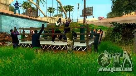 El torneo de Boxeo de Grove ST para GTA San Andreas