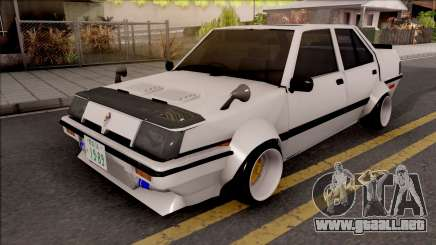 Proton Saga 1985 Widebody ver. para GTA San Andreas
