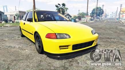 Honda Civic SIR (EG6) [add-on] para GTA 5