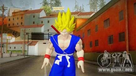 Goku Original DB Gi Blue v3 para GTA San Andreas