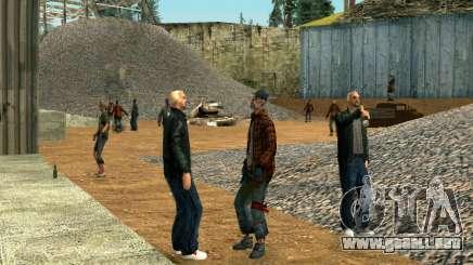 Partido sin hogar para GTA San Andreas
