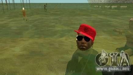 En las playas de la gente nadar en el agua para GTA San Andreas
