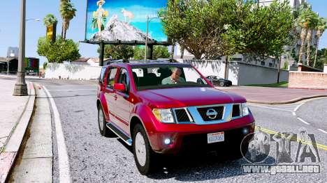Nissan Pathfinder 2007 para GTA 5