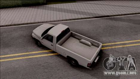 Dodge Ram 2500 1994 para GTA San Andreas vista hacia atrás