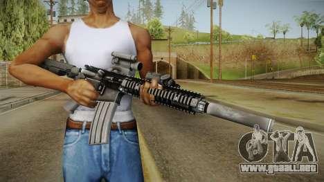 MK18 SAS Rifle para GTA San Andreas tercera pantalla