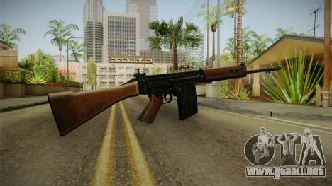 Insurgency FN-FAL Assault Rifle para GTA San Andreas segunda pantalla