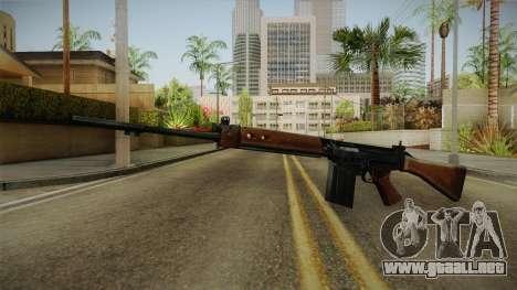 Insurgency FN-FAL Assault Rifle para GTA San Andreas