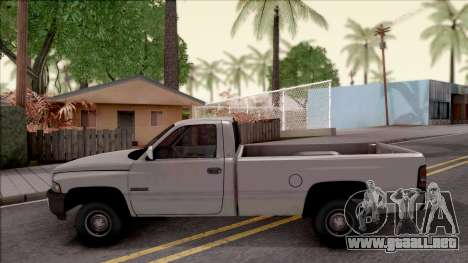 Dodge Ram 2500 1994 para GTA San Andreas left
