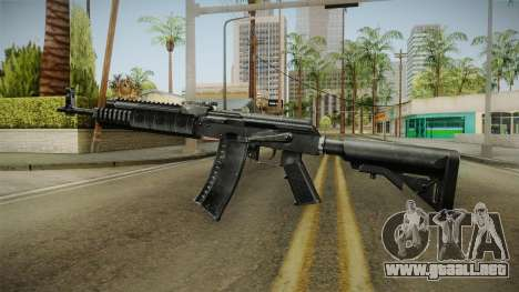 AK-47 Tactical Rifle para GTA San Andreas segunda pantalla