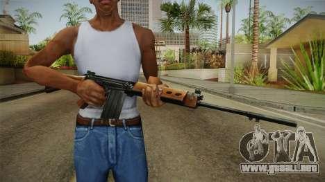 Insurgency FN-FAL Assault Rifle para GTA San Andreas tercera pantalla