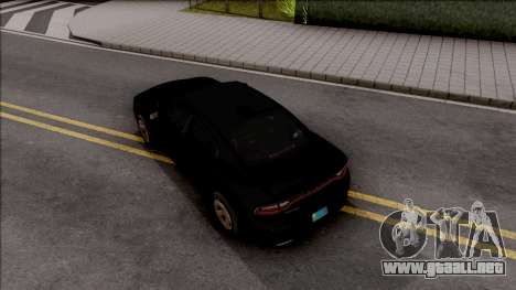 Dodge Charger Unmarked 2015 para GTA San Andreas
