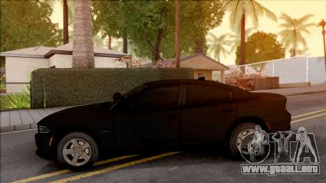 Dodge Charger Unmarked 2015 para GTA San Andreas left