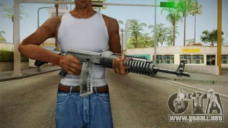 AK-47 Tactical Rifle para GTA San Andreas tercera pantalla