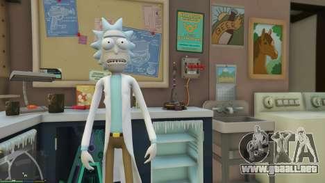 GTA 5 Rick Sanchez (Rick and Morty) [Add-On] 2.2