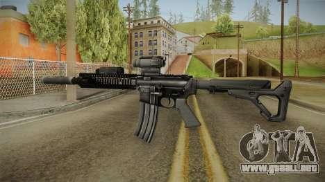 MK18 SAS Rifle para GTA San Andreas segunda pantalla