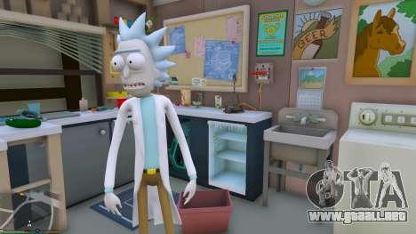 GTA 5 Rick Sanchez (Rick and Morty) [Add-On] 2.2 tercera captura de pantalla