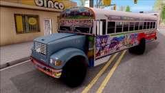 Diablo Rojo Panama Blue Bird para GTA San Andreas