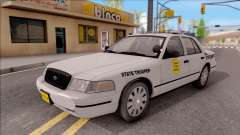 Ford Crown Victoria 2007 Iowa State Patrol para GTA San Andreas