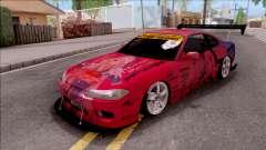 Nissan Silvia S15 Itasha Eris With D1GP para GTA San Andreas