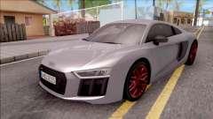 Audi R8 V10 Plus 2018 EU Plate para GTA San Andreas
