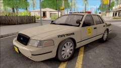 Ford Crown Victoria 2003 Iowa State Patrol para GTA San Andreas