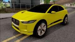 Jaguar I-Pace 2018 para GTA San Andreas
