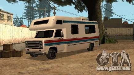 Viaje con raya roja y azul para GTA San Andreas