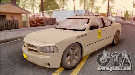 Dodge Charger Gold 2007 Iowa State Patrol para GTA San Andreas