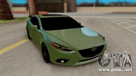 Mazda 3 Sedan 2014 para GTA San Andreas
