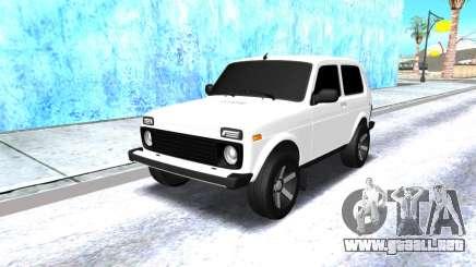 VAZ 2121 armenia blanco para GTA San Andreas