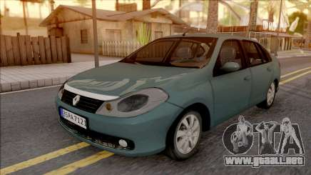 Renault Symbol 2009 Expression Version para GTA San Andreas