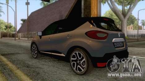 Renault Captur para la visión correcta GTA San Andreas