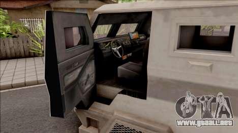 GTA EFLC HVY Brickade para visión interna GTA San Andreas