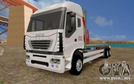 Iveco Stralis Camión SIN EXTRAS para GTA San Andreas