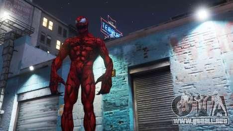 GTA 5 Carnage (Marvel Future Fight) [ADD-ON] 2.0 segunda captura de pantalla
