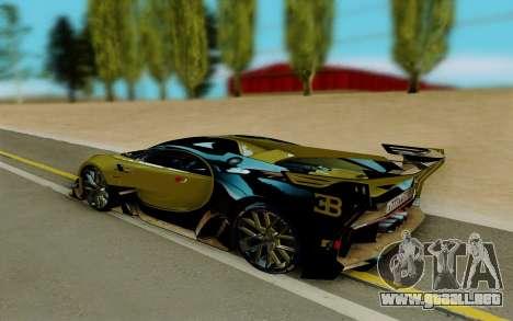 Bugatti Vision G para GTA San Andreas left
