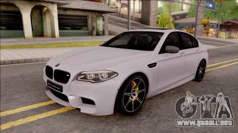 BMW M5 F10 Competition Edition para GTA San Andreas